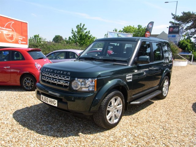used Land Rover Discovery 4 3.0 SDV6 GS 4x4 7 Seat 5dr Auto in dorset