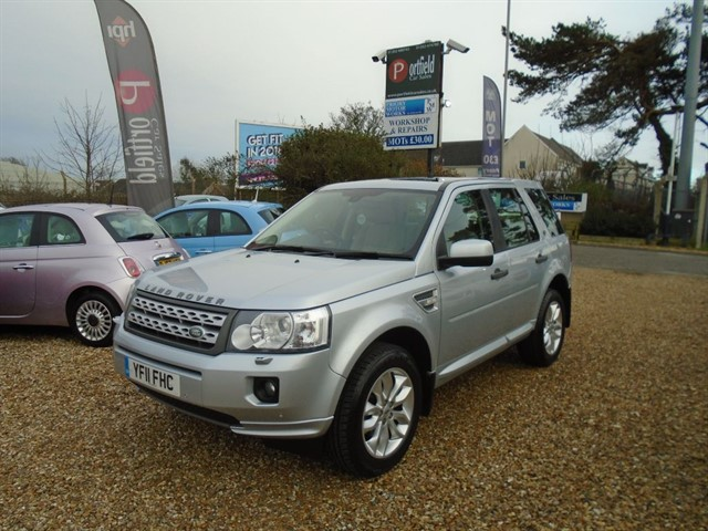 used Land Rover Freelander 2.2 SD4 HSE 4x4 5dr Automatic in dorset