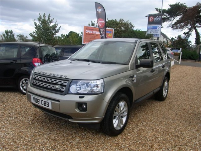 used Land Rover Freelander 2 2.2 Td4 HSE 4x4 5dr Manual 6 Speed in dorset
