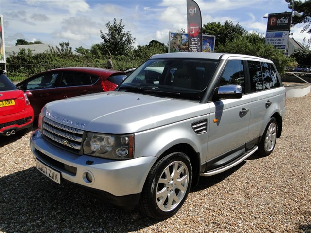 used Land Rover Range Rover Sport 3.6 TDV8 Sport HSE 4x4 5dr Auto  in dorset