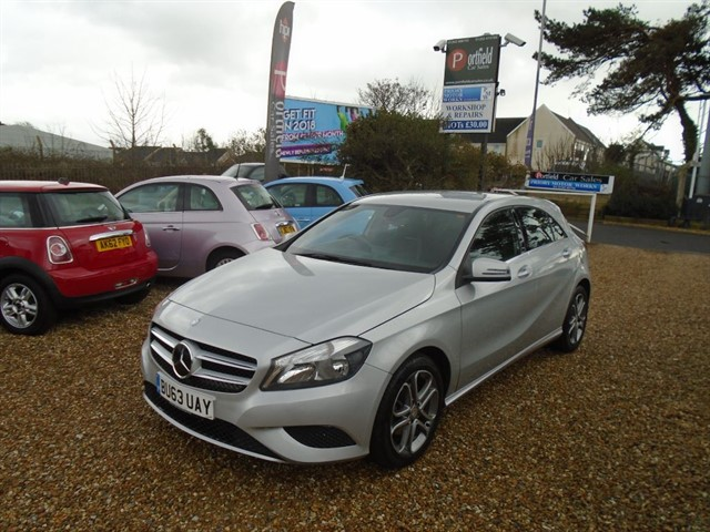 used Mercedes A200 1.8 CDi BlueEfficiency Sport 5dr Manual 6 Speed in dorset