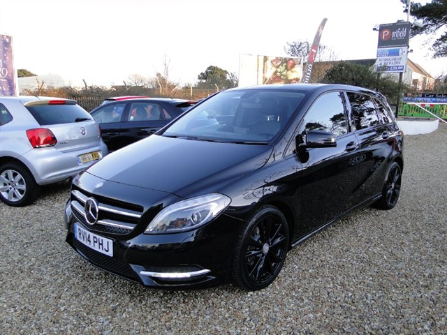 used Mercedes B180 1.6 Blue Efficiency Sport MPV 5dr Manual 6 Speed in dorset