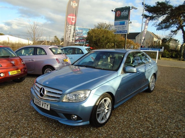 used Mercedes C180 1.8 BlueEFFICIENCY Sport 4dr Auto Tip  in dorset