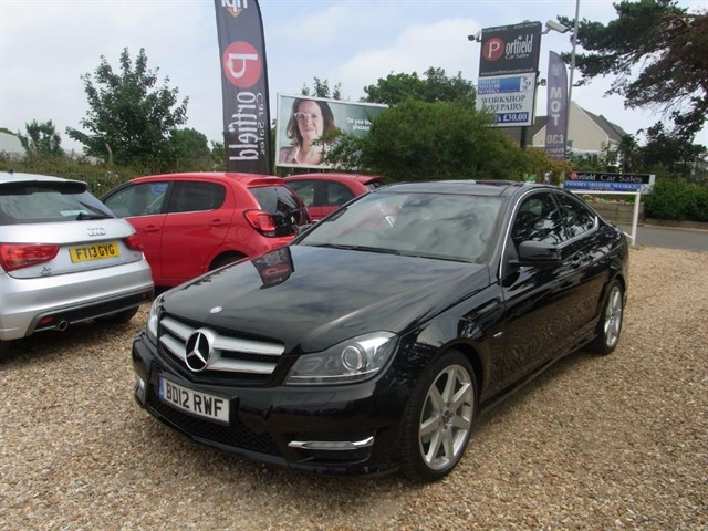 used Mercedes C250 2.1 CDi AMG Sport Coupe 2dr 7G Tronic  in dorset