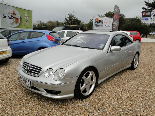 used Mercedes CL55 AMG 5.4 V8 Coupe 2dr Automatic in dorset