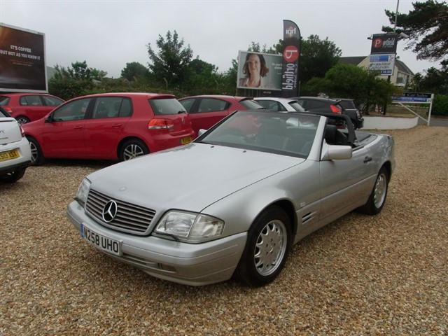 used Mercedes SL 3.2 SL320 Convertible 2+2 2dr Automatic in dorset