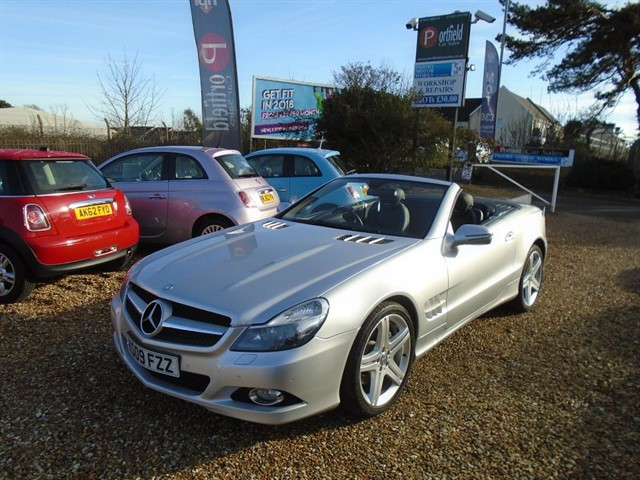 used Mercedes SL350 3.5 2dr 7G Tronic Auto in dorset