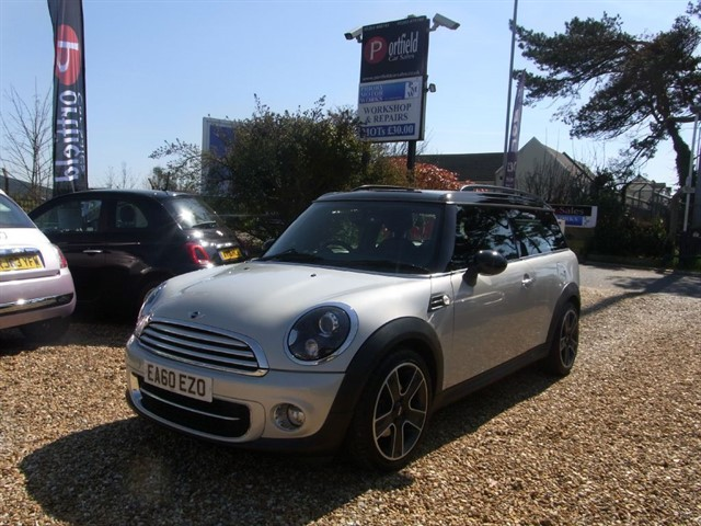 used MINI Clubman 1.6 Cooper D SoHo 5dr Manual 6 Speed in dorset