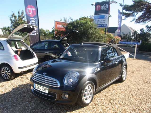 used MINI Convertible 1.6 Cooper D 2dr Manual 6 Speed in dorset