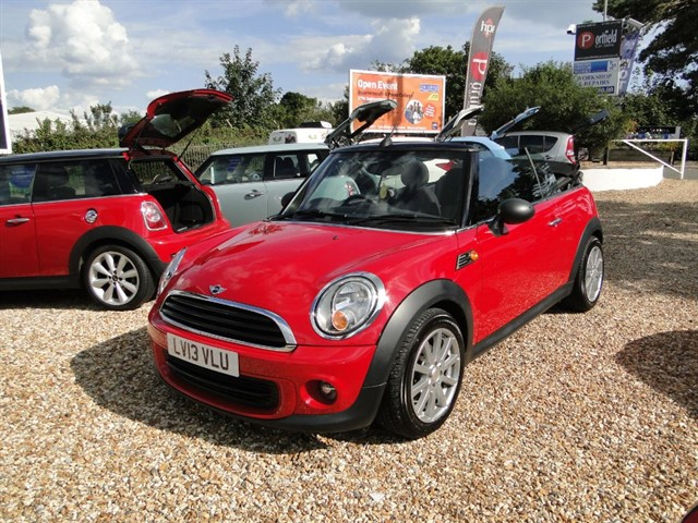 used MINI Convertible 1.6 One Salt Convertible 2dr Automatic in dorset