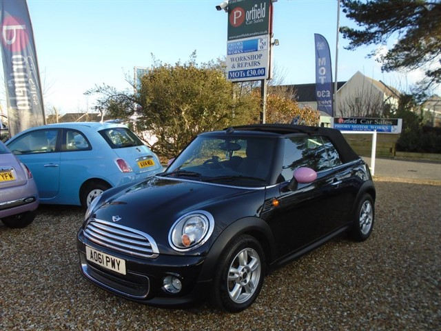 used MINI Convertible 1.6 One Avenue Convertible 2dr Automatic in dorset