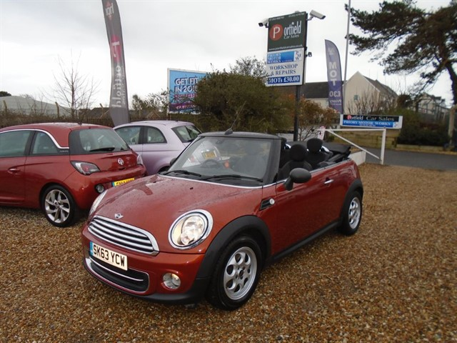 used MINI Convertible 1.6 Cooper 2dr Manual 6 Speed in dorset
