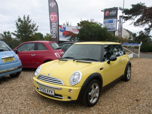 used MINI Hatch 1.6 ONE 3dr Manual in dorset
