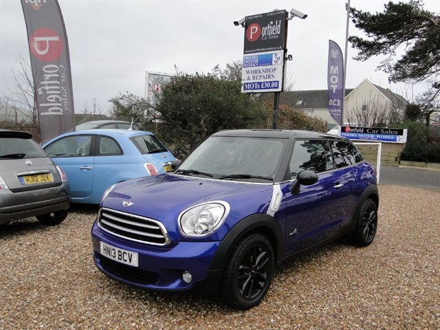 used MINI Paceman 1.6 Cooper D ALL4 Coupe Manual 6 Speed in dorset