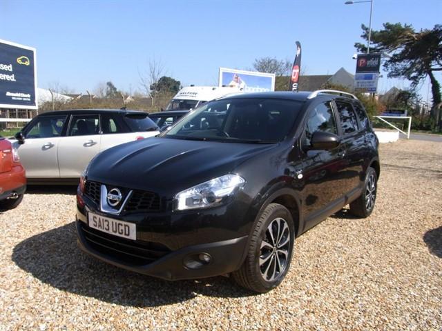 used Nissan Qashqai 1.5 dCi NTec PLUS 2 7 Seat 5dr Manual 6 Speed in dorset