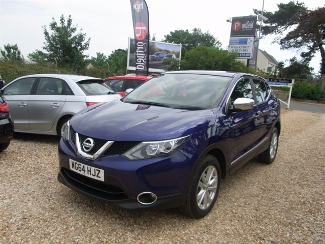 used Nissan Qashqai 1.2 DIG-T Acenta 5dr Manual 6 Speed in dorset