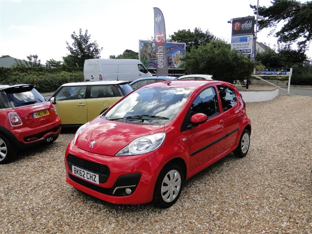 used Peugeot 107 1.0 Active 5dr Manual in dorset