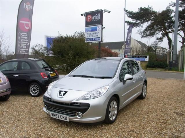 used Peugeot 207 1.6 SE PREMIUM 5dr Automatic in dorset