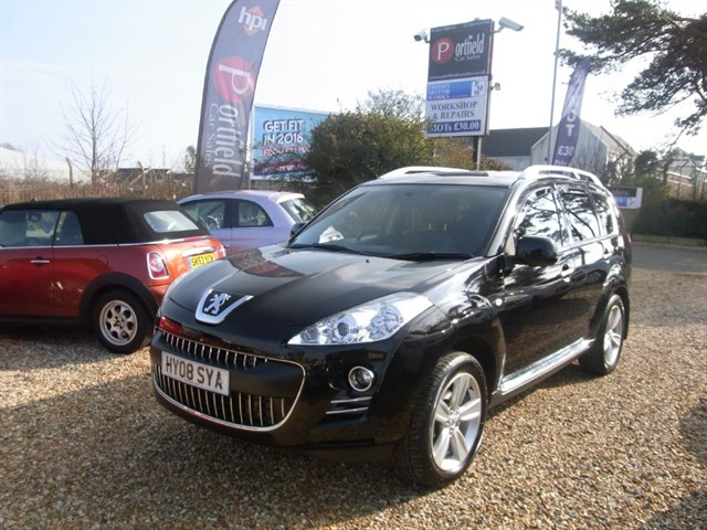 used Peugeot 4007 2.2 HDi GT 4x4 5dr Manual 6 Speed in dorset