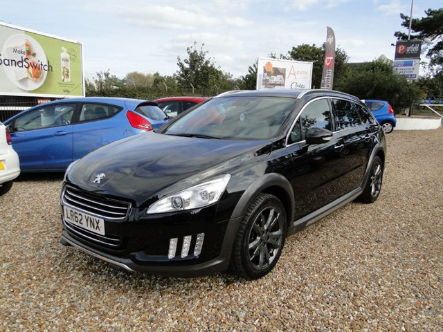 used Peugeot 508 2.0 HDi RXH HYBRID 4WD SW Ltd Edition Auto in dorset
