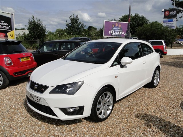 used SEAT Ibiza 1.2 TSi FR Sport Coupe 3dr Manual in dorset