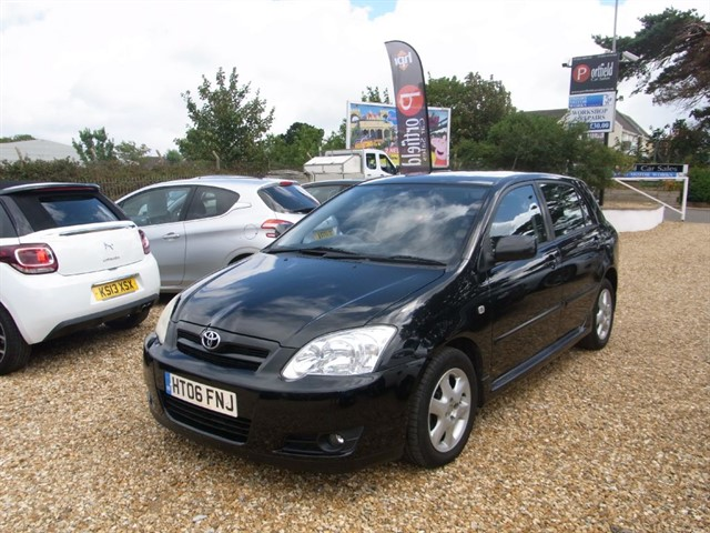 used Toyota Corolla 1.6 VVTi T3 Colour Collection 5dr Manual in dorset