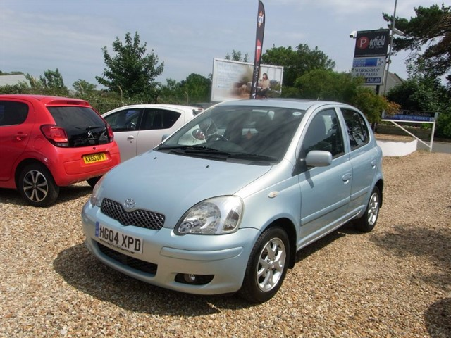 used Toyota Yaris 1.3 VVTi TSpirit 5dr Automatic in dorset