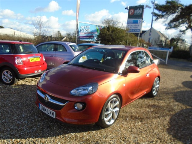 used Vauxhall Adam 1.4 VVTi Jam 3dr Manual in dorset