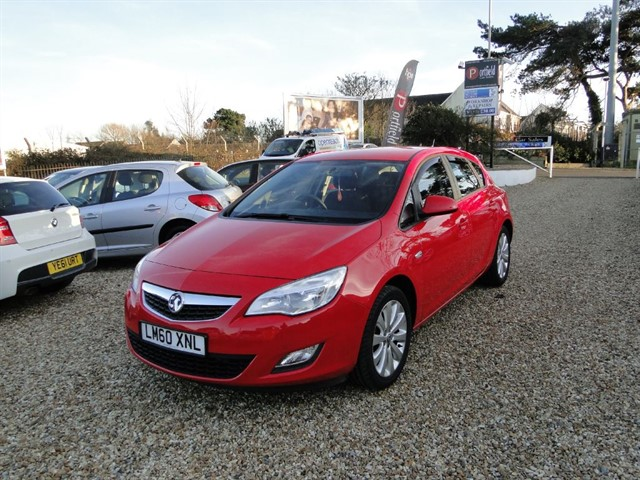 used Vauxhall Astra 1.4 VVTi EXCLUSIV 5dr Manual in dorset