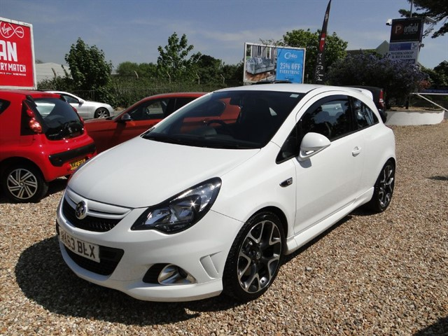 used Vauxhall Corsa 1.6 Turbo VXR 3dr Manual 6 Speed in dorset