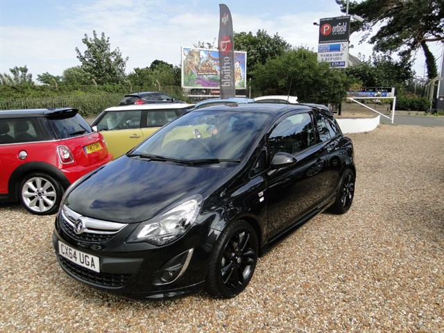 used Vauxhall Corsa 1.2 Limited Edition 3dr Manual in dorset