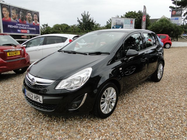 used Vauxhall Corsa 1.4 SE A/C 5dr Manual in dorset