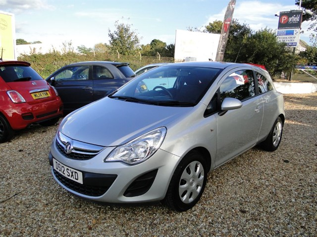 used Vauxhall Corsa 1.4 Exclusiv A/C 3dr Automatic  in dorset