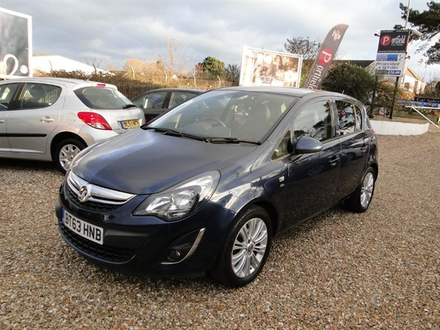 used Vauxhall Corsa 1.4 SE 5dr Manual in dorset