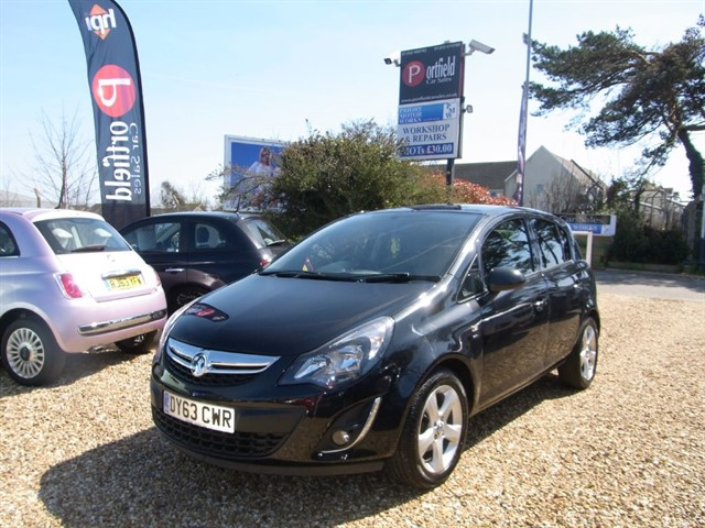 used Vauxhall Corsa 1.4 SXi A/C 5dr Manual in dorset