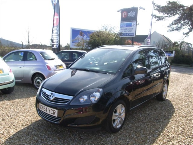 used Vauxhall Zafira 1.8 EXCLUSIV 7 Seat MPV 5dr Manual in dorset