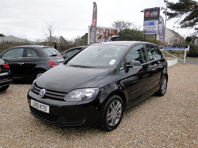 used VW Golf Plus 1.4 TSi SE 5dr DSG 6 Speed Automatic in dorset