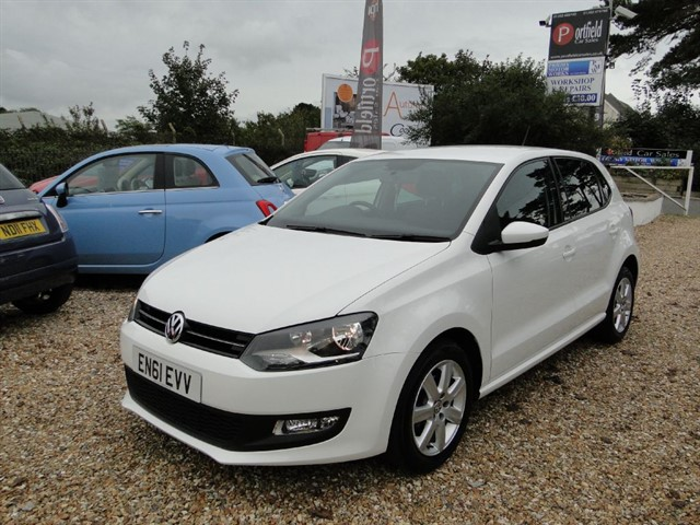 used VW Polo 1.2 Match 5dr Manual in dorset