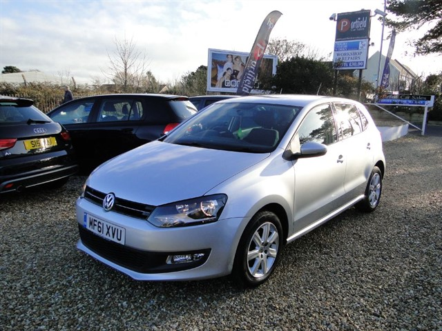 used VW Polo 1.4 Match 5dr DSG Auto in dorset