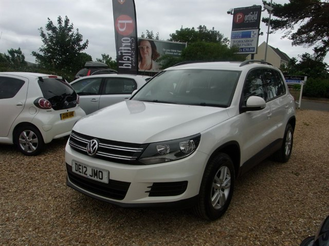 used VW Tiguan 2.0 TDi S BlueMOTION 4Motion Technology 5dr Manual 6 Speed in dorset