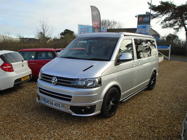 used VW Transporter 2.5 TDi T30 SWB 4Motion Camper Conversion Manual 6 Speed in dorset