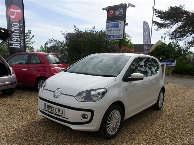 used VW Up 1.0 HIGH UP 3dr Manual in dorset