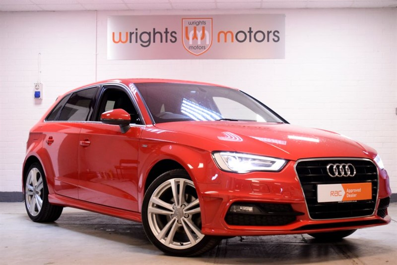 used Audi A3 TDI S LINE SAT NAV !! in Norfolk