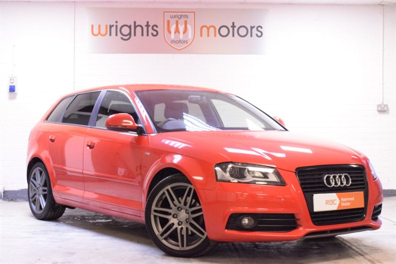 used Audi A3 SPORTBACK TDI S LINE SPECIAL EDITION BLACK EDITION !! in Norfolk
