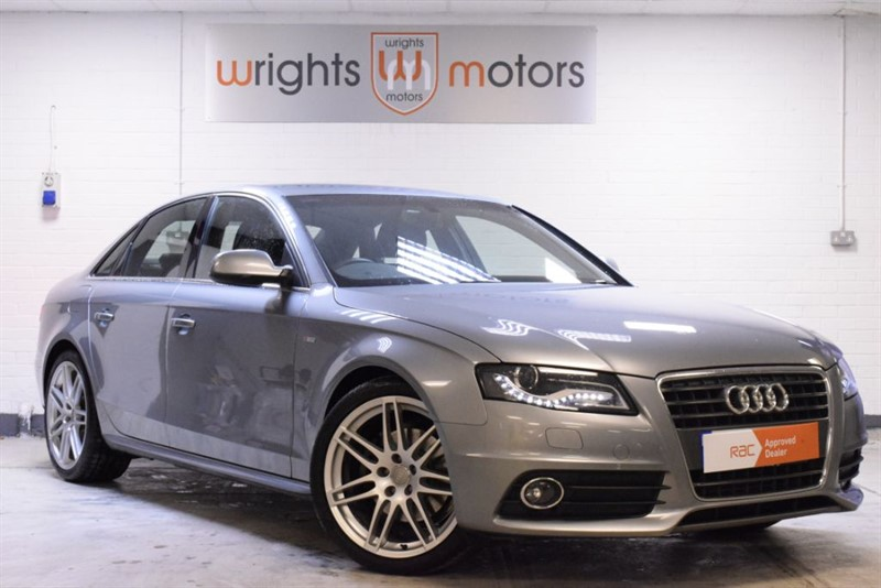used Audi A4 TDI S LINE SPECIAL EDITION FULL LEATHER 170 BHP !! in Norfolk