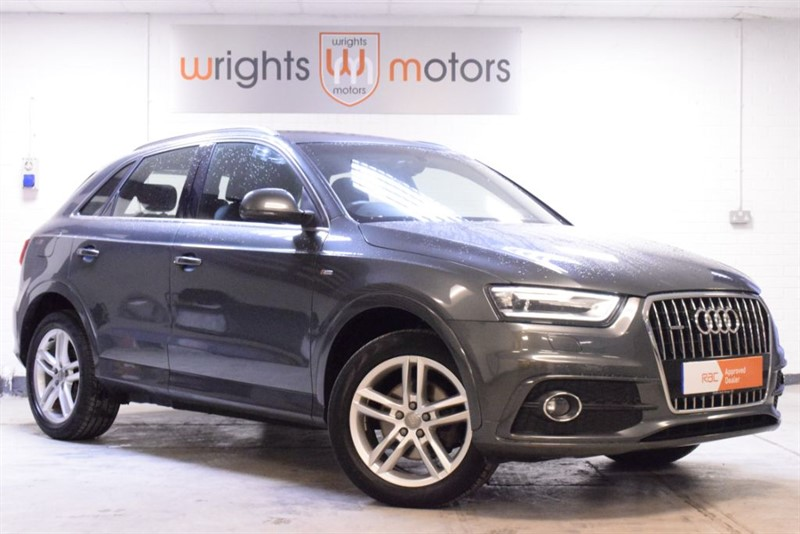 used Audi Q3 TDI QUATTRO S LINE SAT NAV & HALF LEATHER !! in Norfolk