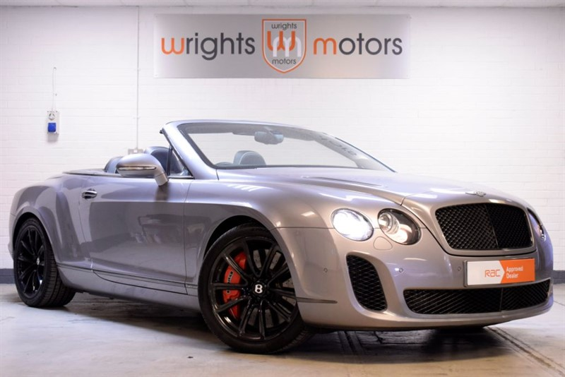 used Bentley Continental Supersports W12 2DR AUTO  in Norfolk