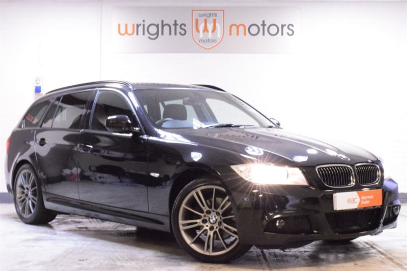used BMW 320d SPORT PLUS EDITION TOURING - 1 Owner - Full Black Leather in Norfolk