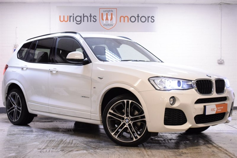 used BMW X3 XDRIVE20D M SPORT LOVELY SPEC WITH £5625 OF EXTRAS!! in Norfolk