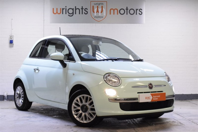 used Fiat 500 LOUNGE PANO ROOF & BEST COLOUR !! in Norfolk